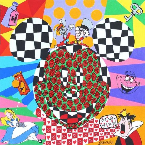 Mickey in Aliceland
