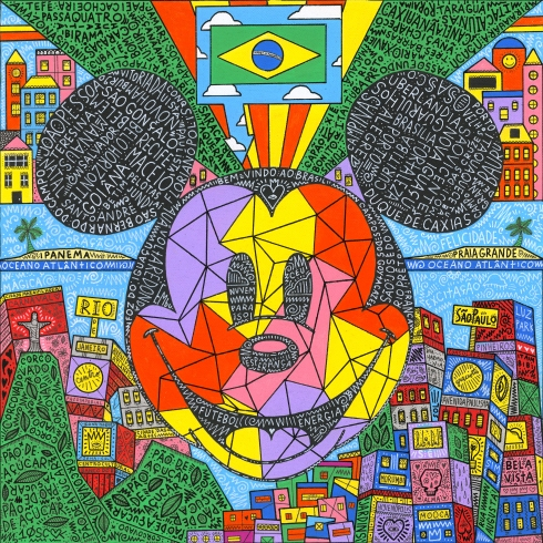 Bem Vindo Ao Brasil 14x14